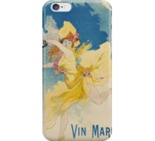 Jules Cheret - Vin Mariani Poster. Dancer painting: dance, ballet, dancing woman, ballerina, tutu, femine, women, dancer, disco, dancers, girls iPhone Case/Skin