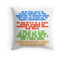 My Spot - Throw Pillow Throw Pillow