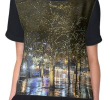 Southbank fairy lights Chiffon Top