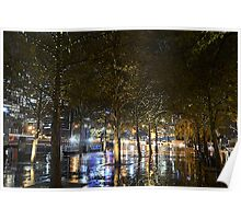 Southbank fairy lights Poster