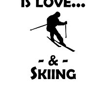 Love And Skiing by kwg2200