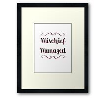 The Marauders V3 Framed Print