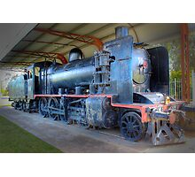 K181 steam engine Photographic Print
