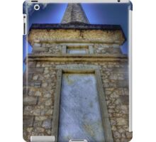 Monument to the fallen iPad Case/Skin