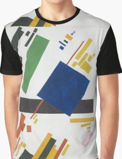 Kazimir Malevich - Suprematist Composition. Abstract painting: abstract art, geometric, expressionism, composition, lines, forms, creative fusion, spot, shape, illusion, fantasy future Graphic T-Shirt