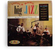 jazz lp on crown Canvas Print