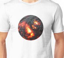 Flaming Seashell 4 Unisex T-Shirt
