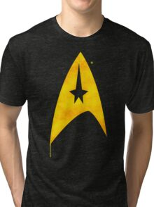 Star Trek - Watercolour Command Tri-blend T-Shirt
