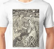Girl Turning Into A Tree Unisex T-Shirt