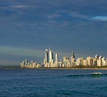 Surfers Paradise Qld Australia by Beth  Wode