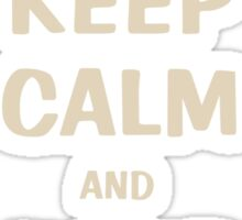 Keep Calm and Jump On Horse Pillows, iPhone Cases,T-Shirt or Hoodie's and More! Sticker