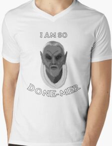I am so Done-Mer Mens V-Neck T-Shirt