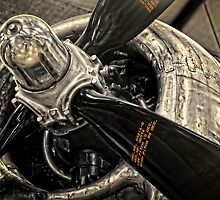 B-29 Engine by Ken Smith