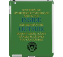Just Because - Sam Carter iPad Case/Skin