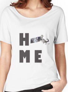 """Massachusetts """"HOME"""" Women's Relaxed Fit T-Shirt"""