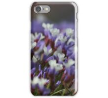 Little Purple and White Flowers iPhone Case/Skin