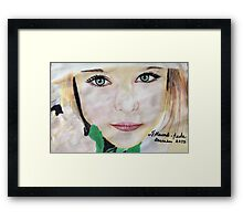 The portrait Framed Print