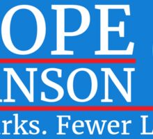 Vote Knope Swanson for Breakfast 2016 Sticker