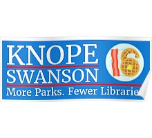 Vote Knope Swanson for Breakfast 2016 Poster