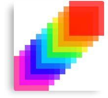 Pixel colors Canvas Print