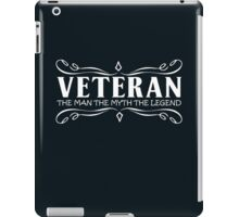 gift for father veteran iPad Case/Skin