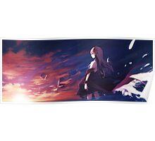 Anime Girl Poster Poster