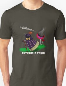 Dalek and the chocolate factory Unisex T-Shirt