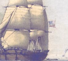 The Eventful Voyage of H.M. Resolute (1857) Sticker