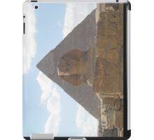 The Sphinx guarding the pyramids iPad Case/Skin