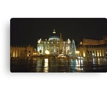 St. Peter in Christmas Day in the rain Canvas Print