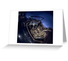 Night Riding Greeting Card