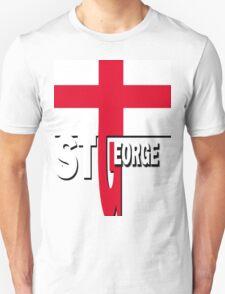 Flag ST GEORGE ENGLAND T-Shirt