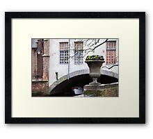 Belgian landscape Framed Print