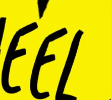 Heel 2 Sticker