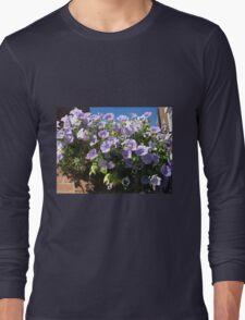 Mauve Is Pretty! Hanging Basket Long Sleeve T-Shirt