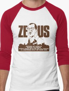 Zeus (Die Hard) Men's Baseball ¾ T-Shirt