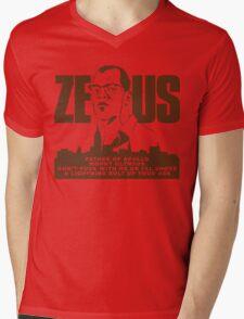 Zeus (Die Hard) Mens V-Neck T-Shirt