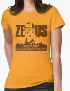 Zeus (Die Hard) Womens Fitted T-Shirt
