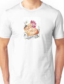 "Crazy Chicken Banner ""CLUCK LIFE"" Unisex T-Shirt"