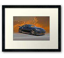 Nissan 350Z 'Zee Bee' Framed Print
