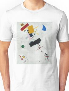 Kazimir Malevich - Suprematism. Abstract painting: abstract art, geometric, expressionism, composition, lines, forms, creative fusion, spot, shape, illusion, fantasy future Unisex T-Shirt