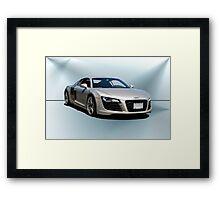 Audi Quaddro R8 II Framed Print