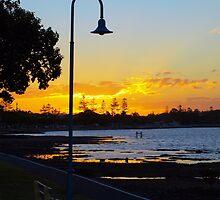 Wynnum Sunset 2 by Wayne  Nixon  (W E NIXON PHOTOGRAPHY)