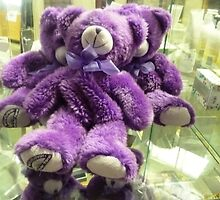 *Lovely Purple Teddy Bears* by EdsMum