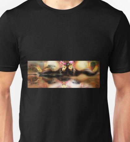 Reflections on Life [Digital Figure Illustration] Unisex T-Shirt