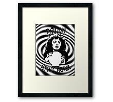 Édith Piaf Psychique de Hotline Framed Print