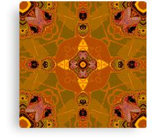amber structure layer 332 Canvas Print