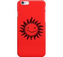 Superwholock - Red iPhone Case/Skin