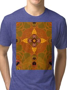 amber structure layer 332 Tri-blend T-Shirt