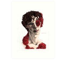 """Organic"" - sherlock portrait, full colour version Art Print"